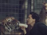 Story: Bronx Zoo Premium Photographic Print by Nina Leen