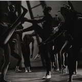Choreographer Jerome Robbins Photographic Print by Gjon Mili