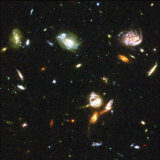 Astronomers at Space Telescope Science Institute Unveiled the Deepest Portrait of Universe, 2004 Photographic Print