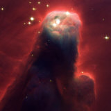 The Cone Nebula, Hubble Space Telescope Photographic Print
