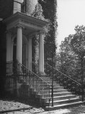 Exterior Staircase of Octagon on New York Ave, Where Pres Madison Stayed after White House Burned Premium Photographic Print by Hans Wild