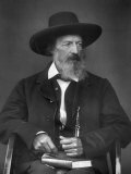 Portrait of English Poet Alfred Lord Tennyson Premium Photographic Print by Julia Margaret Cameron