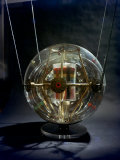 Model of Earth Satellite Created at Naval Research Lab Shows How Instruments Will Be Stacked Reproduction photographique sur papier de qualit&#233; par Hank Walker