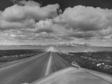 US Highway 20 Between Blackfoot and Arco Premium Photographic Print by Frank Scherschel