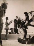 Choreographer Jerome Robbins Fotografie-Druck von Gjon Mili