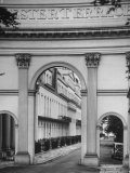 19th. Century Neo-Classic Arch at Chester Terrace Designed by John Nash Premium Photographic Print by Mark Kauffman