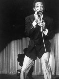 Comedian Bill Cosby Performing on Stage Premium Photographic Print by Michael Rougier