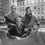 Women's Tweed Fashions Photographic Print by Nina Leen