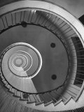Circular Stairs of Bremen Trade School Photographic Print by Dmitri Kessel