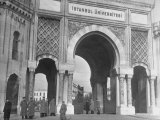 Magnificent Arches to the Entrance of the University of Istanbul Premium Photographic Print by Margaret Bourke-White