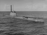 German Snorkle Submarine That Ussr Got at the End of the War Photographic Print by Ralph Morse