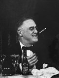 Pres. Franklin D. Roosevelt Attending the Jackson Day Dinner Premium Photographic Print