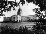 Parliment Building in the City of Edmonton, Alberta, Canada Premium Photographic Print
