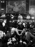Pittsburgh Businessmen at Upscale Bar Premium Photographic Print by Margaret Bourke-White
