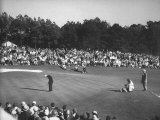 Spectators Watching as Gary Player Wins the Master's Golf Tournament Photographic Print