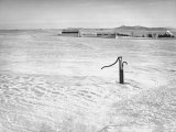 Long Stretch of Fields Covered in Snow Premium Photographic Print by Bernard Hoffman