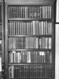 Bookcase Containing Every First Edition Printing of the Books of Rudyard Kipling Premium Photographic Print