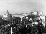 Exterior of Alhambra Palace Photographic Print by Dmitri Kessel