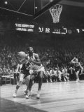 Univ. of Cincinnati Team Captain, Oscar Robertson During Game with Iowa University Premium Photographic Print by Yale Joel