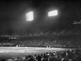 St. Louis Browns Game Premium Photographic Print by Peter Stackpole