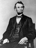 Seated Portrait of President Abraham Lincoln Reproduction photographique sur papier de qualité