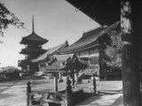 Exterior of Kyomizu Temple Premium Photographic Print by Dmitri Kessel