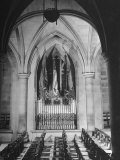 Woodrow Wilson's Tomb in the National Cathedral Premium Photographic Print by Myron Davis