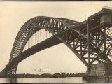 Bayonne Bridge and the Port of Ny Photographic Print by Margaret Bourke-White