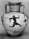 Ancient Greek Vase Showing an Olympic Athlete Premium Photographic Print