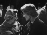 Actress June Allyson with Pat Nixon on Eve of the California Elections Premium Photographic Print by Ralph Crane