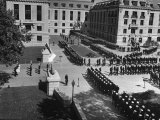 Unidentified Ceremony at the US Naval Academy Premium Photographic Print