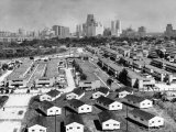 Housing Project in Houston Premium Photographic Print by Dmitri Kessel