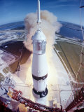 Apollo 15 Lifting Off Fr. Kennedy Space Center Reproduction photographique sur papier de qualité