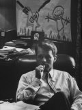 Attorney General Robert F. Kennedy, in His Office Premium Photographic Print