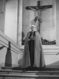 Cardinal Theodor Innitzer, Wearing His Robes Premium Photographic Print by Dmitri Kessel