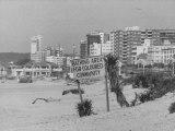 Segregated Beach in Durban Premium Photographic Print