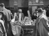 Open Air Market in the Jewish Ghettos of Alkmaar Premium Photographic Print