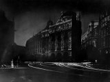 Nighttime View of Regent Street in the Piccadilly Circus Section of the City Premium Photographic Print by Margaret Bourke-White
