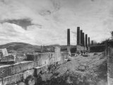 The Ruins of Herod's Palace Premium Photographic Print by Dmitri Kessel
