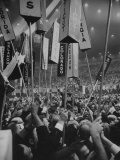 1960 Democratic National Convention Premium Photographic Print by Ed Clark