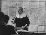 Teacher Teaching History Premium Photographic Print by Howard Sochurek