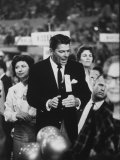 Ronald Reagan During the 1964 Repub. Convention Premium Photographic Print by Ralph Crane