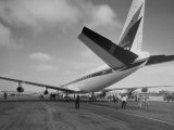 Jet Preparing for a Test Flight Photographic Print