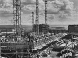 During Construction of Brazil's New Capital, Photographic Print