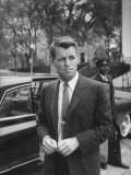 Attorney General Robert F. Kennedy, after Meeting of National Security Council, Re Cuban Crisis Premium Photographic Print