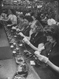 Bell Telephone Assembly Lines Premium Photographic Print