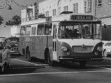 German Bus -Gold Crisis Premium Photographic Print by J. R. Eyerman