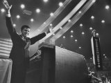 Sen. Frank Church Speaking at the 1960 Democratic National Convention Premium Photographic Print by Ed Clark
