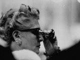 Binoculars Used to Watch Veiled Prophet Ball Premium Photographic Print