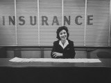 The Selling of Air Accident Insurance at Newark Airport Photographic Print